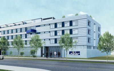 Neu- und Umbau eines Bürogebäudes